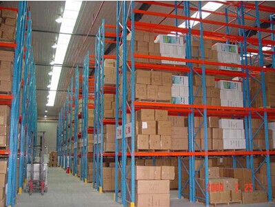 Cross Bridge Industrial Pallet Racks 3500mm Width for Forklift Moved