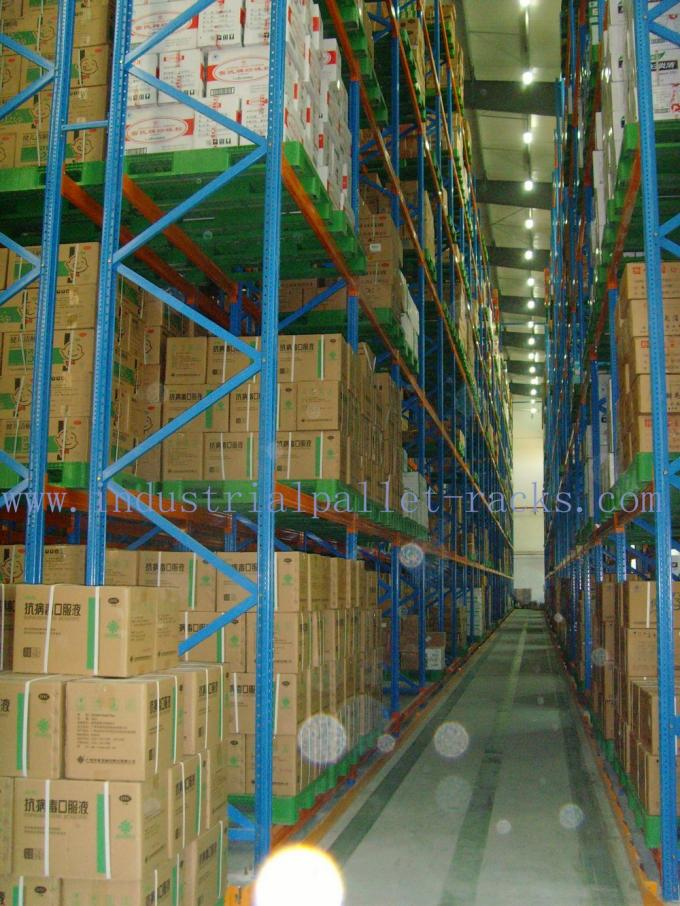 Pallet Weight 2200 LBS X Two Pallets Per Level Selective Pallet Racks In  Bulk Rack Warehouse