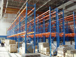 "China Measurement Wide106"" X Depth32"" X Height157"" Selective Pallet Racks Loading Weight 13200LBS supplier"