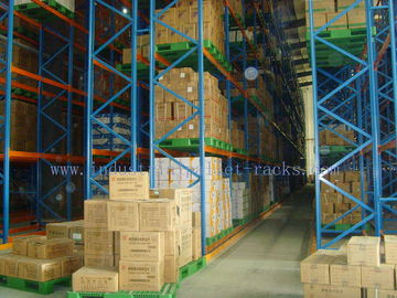 China Pallet Weight 2200 LBS X Two Pallets Per Level Selective Pallet Racks In  Bulk Rack Warehouse supplier