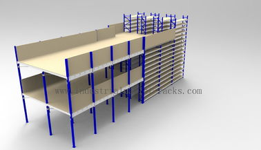 Ground + Two Flooring 246FT/7.5M Height Shelving With Mezzanine Floors System