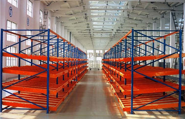 China Warehouse System Carton Flow Rack  Metal Live Picking Storage For Manual Gravity supplier