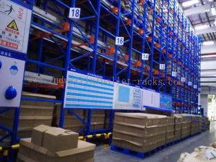 China Semi Autometic Heavy Duty Radio Shuttle Racking System for Industrial Storage Management supplier