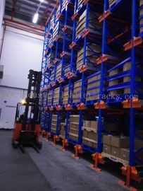 China Six Level HD Pallet Radio Shuttle Racking System, A High Compact Storage Model supplier