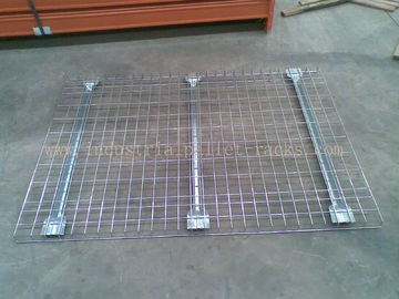 China Customized Industrial Pallet Racks Wire Mesh Decking / Wire Decks For Metal Shelving supplier