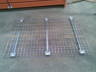 Customized Industrial Pallet Racks Wire Mesh Decking / Wire Decks For Metal Shelving