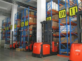 China 5m / 16.5 FT Height Narrow Ailse Industrial Pallet Rack System Saving Space & Manpower supplier