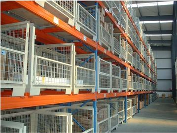 China Durable  Metal heavy duty selective pallet rack with Multi - Level shelves supplier