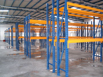 China Carbon steel selective pallet rack with phosphorus antirust / spray powder finished supplier