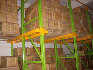 China high density Drive in pallet racking with spray powder coating finished supplier