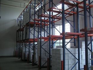 China Pallet Forklift trucks Drive In Racking for homogeneous low - rotation products supplier