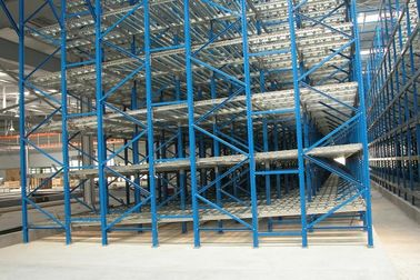China filo basis stock gravity flow Industrial Pallet Racks with steel zinc roller supplier