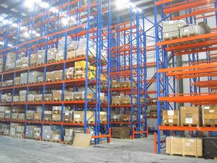 China 1000kg conventional double deep pallet racking system industrial shelving rack supplier