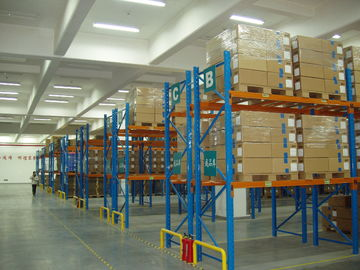 China Economical Selective Industrial Pallet Racks Customized For Palletised Products Storage supplier