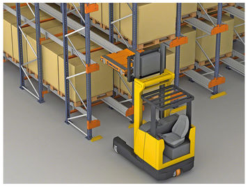 China high efficiency storage Radio Shuttle Racking with machines working supplier