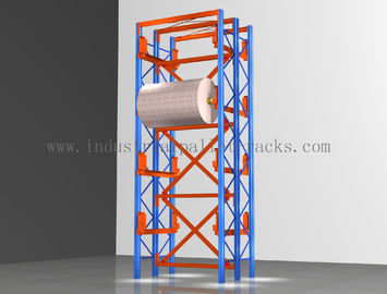 Steel Industrial Pallet Racks Large Capacity WIth Spray Paint