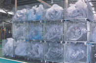 Welded Wire Mesh Containers Warehouse Equipments For Storage Management