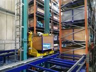 Chain Slat Conveyor Light Weight Automated Storage And Retrieval System Multi Levels Storage
