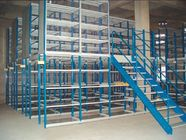 Multi - tier mezzanine racking system(2-3 floor) 150- 500KG per level capacity