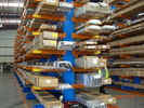 1000kg double side / single side Cantilever Racking Systems for Pipe / steel products