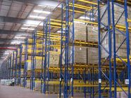 Universal single access selective pallet rack with cold rolled steel , 500KG