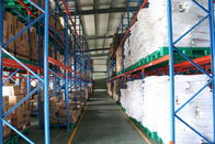 China Conventional cold rolled steel storage pallet racking , industrial storage racks company