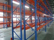 China Heavy duty Selective steel storage pallet rack systems with spray powder paint company
