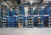 150KG - 600KG Manual operation mezzanine floors with shelves racks