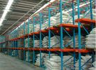 Cold room Heavy Duty selective pallet racking with double side bracket
