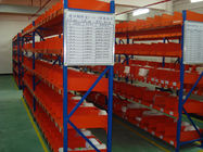 China Durable cold rolled steel light duty shelving with spray powder finished company