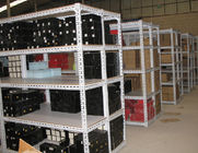50kg - 80kg Multi level light duty shelving for Carton / loose cargo , customized