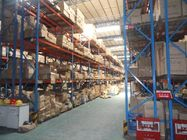 multi level double deep pallet rack , 500 - 2000KG double entry selective pallet racking
