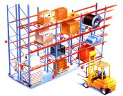 High density heavy weight selective pallet rack , customized longspan shelving