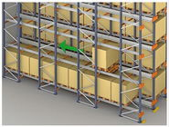 compatible Cold room warehouse Radio Shuttle Racking with CE Certificated