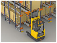 high efficiency storage Radio Shuttle Racking with machines working