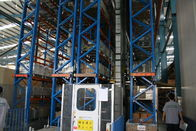 China heavy duty pallet Automatic Storage And Retrieval System with cold rolled steel , 30M company