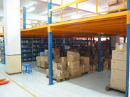 Heavy Weight Load Capacity Industrial Mezzanine Floors with Steel / Plywood Flooring
