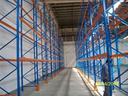 Cold Rolled Steel Racking Pallet Rack Shelving , Industrail Storage Solutions