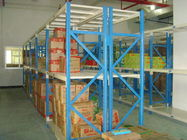 Grey Metal Shelvig Industrial Storage Racks for Logistic central
