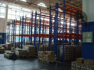 Powder Coating Double Deep Pallet Rack Anti-rust 2000KG for Factory