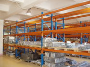 China Three Beam Level Selective Pallet Racks for Logistic Management Blue company