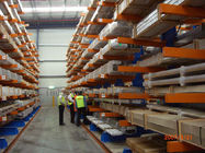 China Vertical Heavy Duty Cantilever Racking Systems , cantilever storage racks company