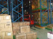 China Pallet Storage Very Narrow Aisle Racking Warehousing Management System Orange company