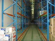 Customized Very Narrow Aisle Racking , Operation Space Warehouse Racking Systems
