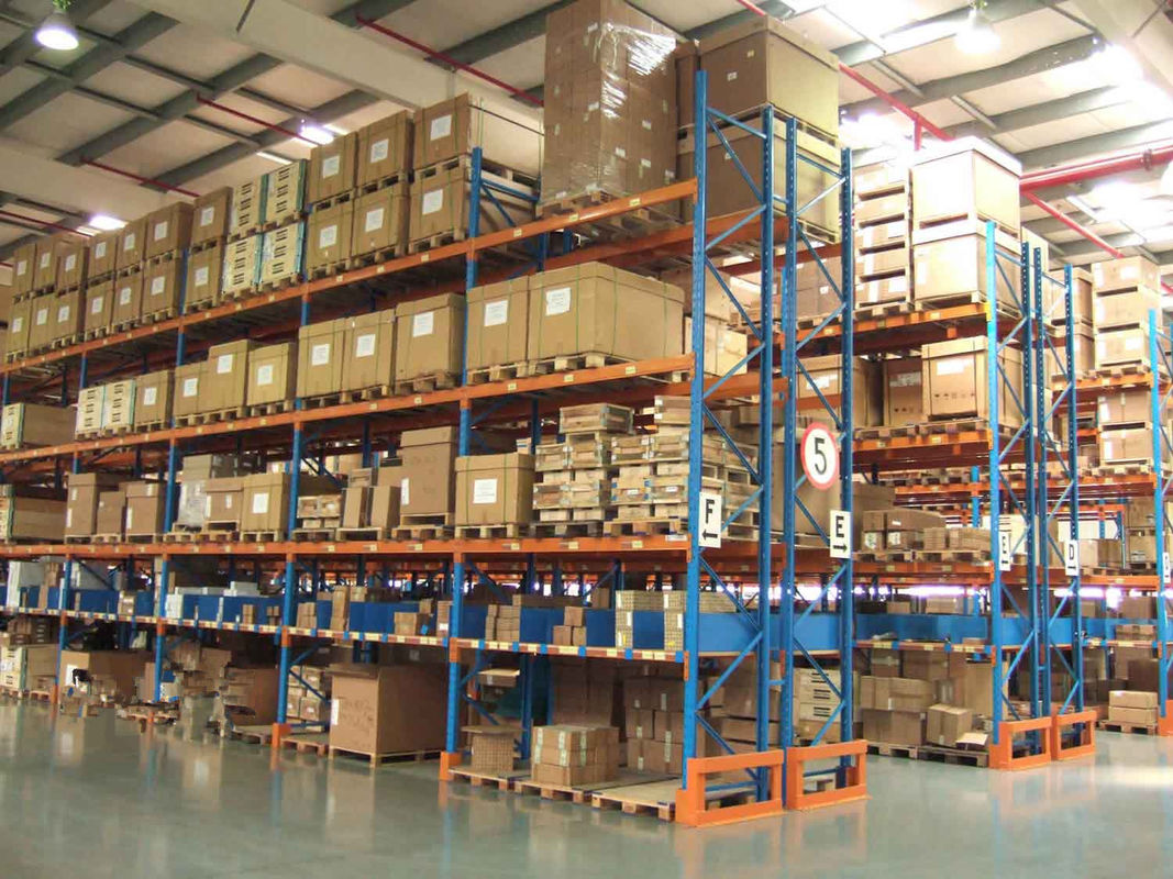 High Density Steel Racking Systems With Spraying Paint