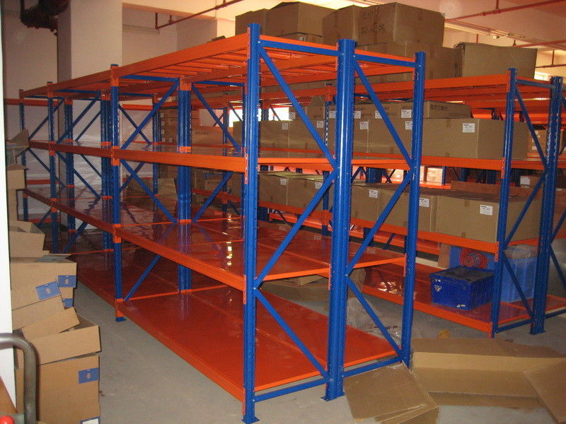 Logistic Central Medium Duty Steel Shelves Selective Racking System Magnificent Powder Coating Racks Suppliers