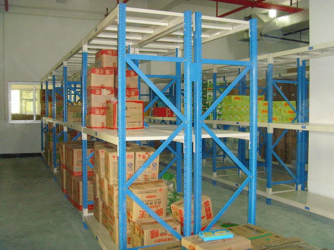 grey metal shelvig industrial storage racks for logistic central - Industrial Storage Racks