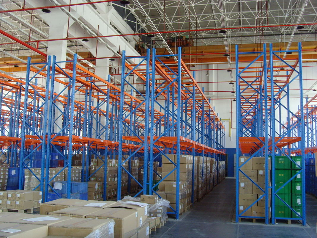 standard double deep pallet racking system