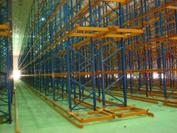 China Supermarket Industrial Pallet Racks , Customized Basicly Storage System factory