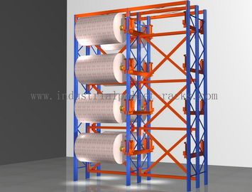 China Industrial Heavy Duty Pallet Rack , Adjustable Rolling Storage Racks factory